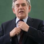 Gordon Brown | Gordon Brown on the green carpet at the Book Festival © Alan McCredie