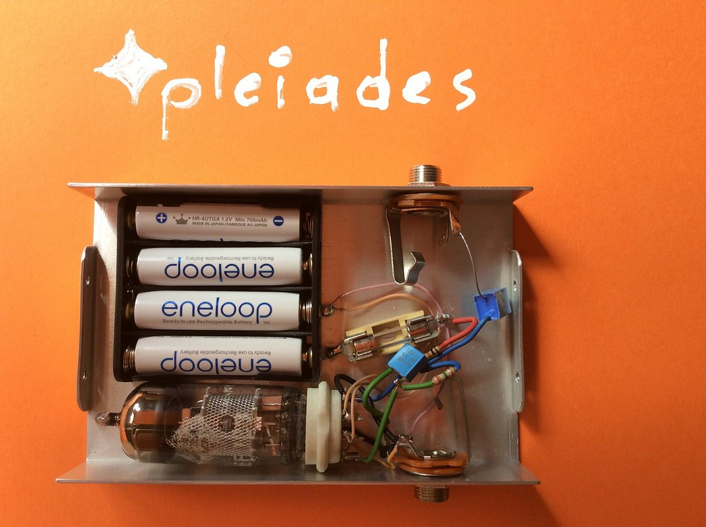 Pleiades battery electron tube microphone pre preamplifier…   Flickr
