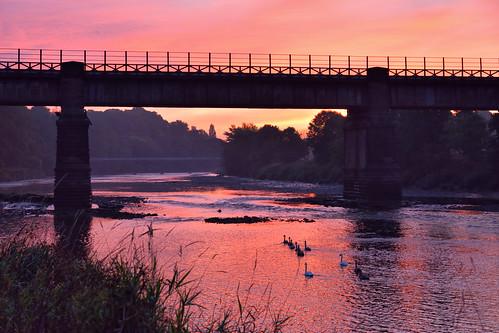 england sunrise lancashire preston riverribble theriverribble