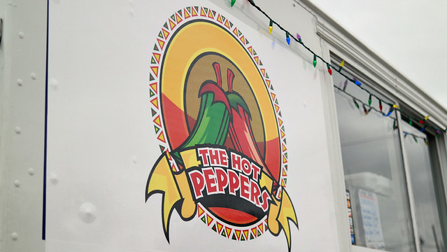 The Hot Peppers Mexican Grill Truck in Des Moines, Iowa.