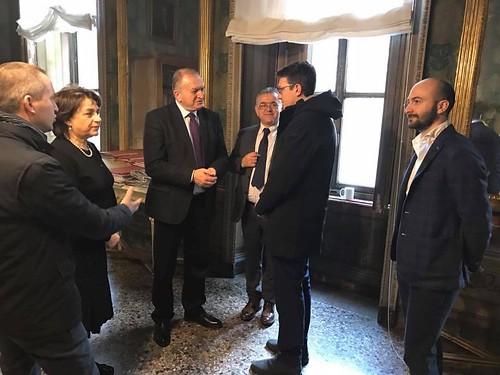 Casale Monferrato, 22/01/2017, Visita del Viceministro dell'Interno albanese Stefan Çipa presso il Municipio | by flavagno