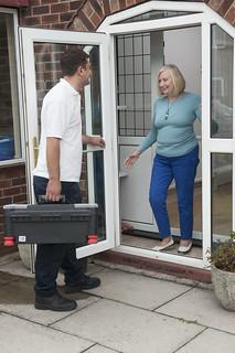Engineer home visit | by CORGI HomePlan