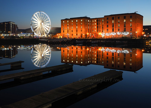 Salthouse Dock Reflections | by .annajane