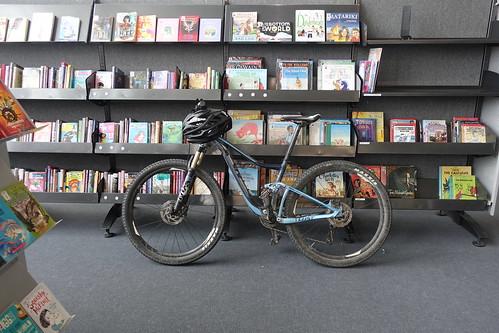 Bike - New Brighton Library.