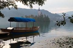Evening on the Lake Bled