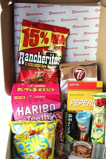 MunchPack October 2015 | by NY Foodie Family