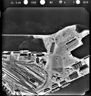 Flyfoto over Brattøra (1984)