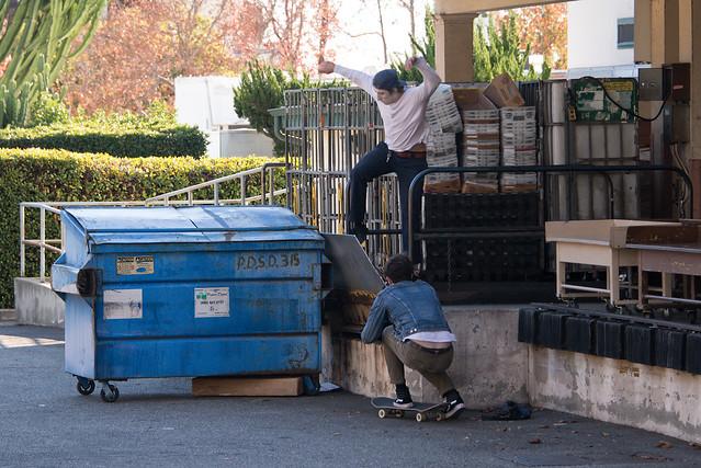Dumpster Boarding #3