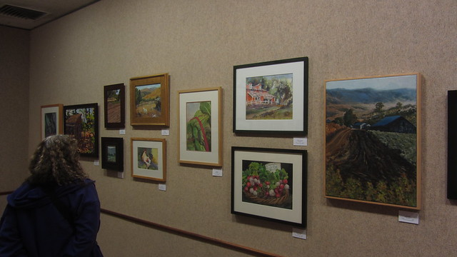 IMG_0631 Goleta Valley library SCAPE Farm to Wall show art