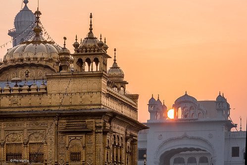 Sunrise over the Sikh Golden Temple - Amritsar, India | by Phil Marion (184 million views - THANKS)