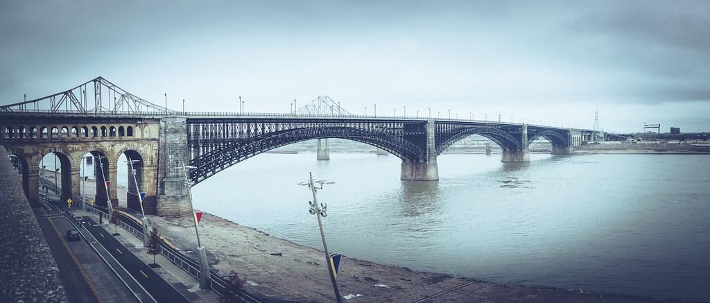Eads Bridge Panorama