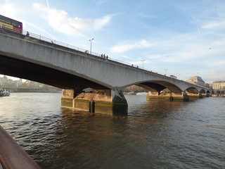 River Thames from the South Bank in London - Waterloo Bridge | by ell brown