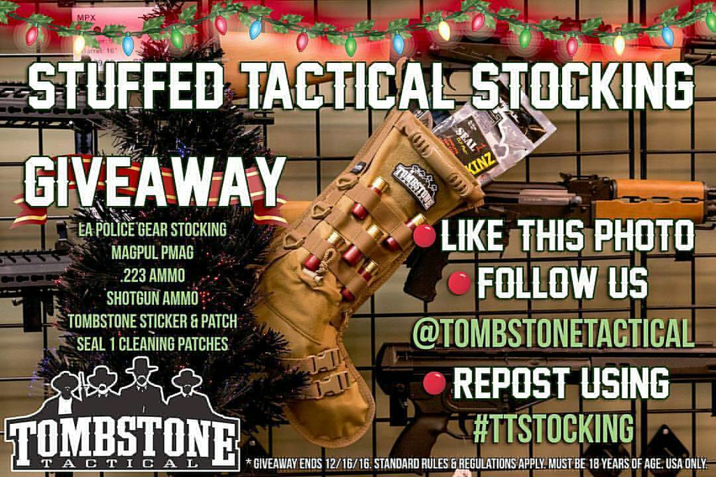 Tactical Christmas Stocking Stuffed.Ttstocking Regrann From Tombstonetactical Want To Win Flickr