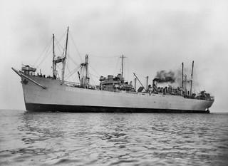 'Empire Crown' on sea trials