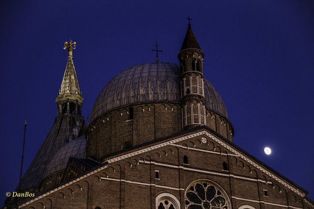 Padova - Saint Anthony Church and Moon