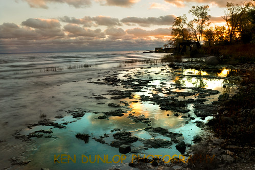 10stopndfilter beach lake lakeerie longexposure niagarafalls niagararegion niagarariver sun sunset travelphotography