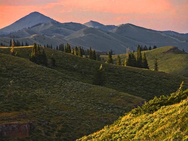 The Deep Creek Mountains. Southern Idaho