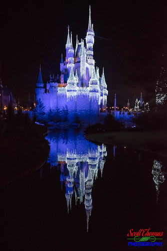 Blue Castle Reflection | by Scott Thomas Photography