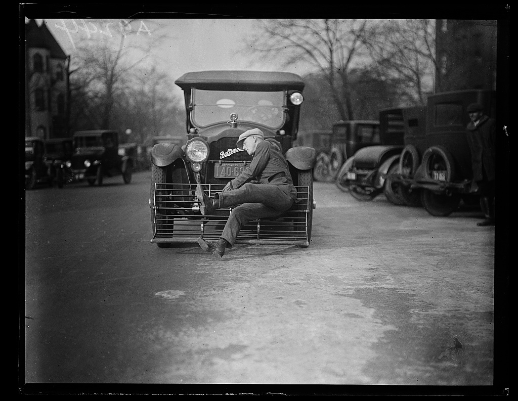 Identified! [Auto safety device demonstration] (LOC)