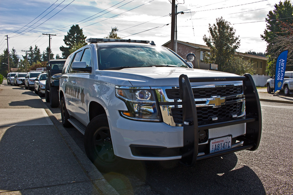 Pierce County Sheriff's Office 2015 Chevrolet Tahoe PPV | Flickr