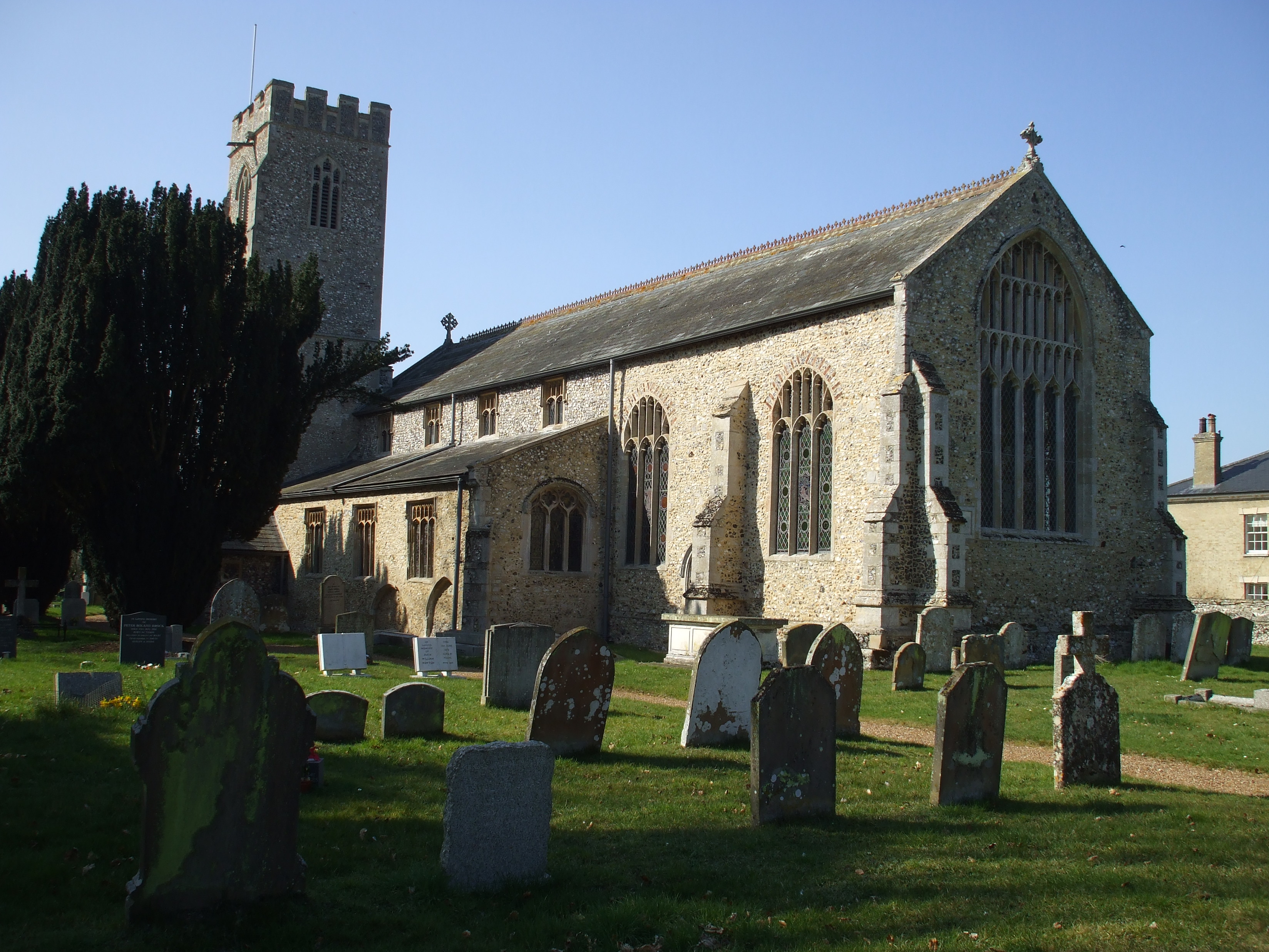 All Saints Church, Narborough, Norfolk