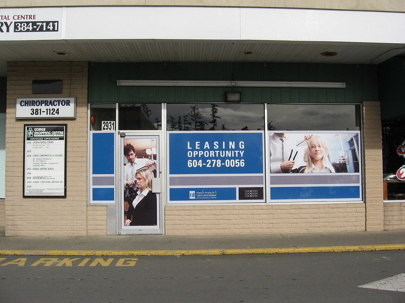 For Lease windows Retail and PoP