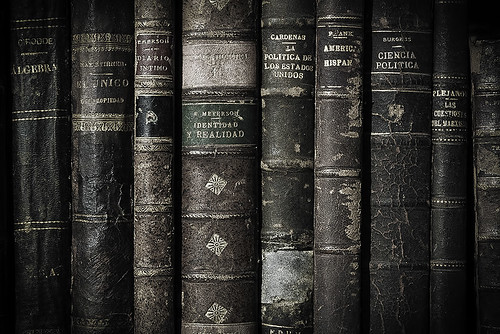 Old Books | by chaz jackson