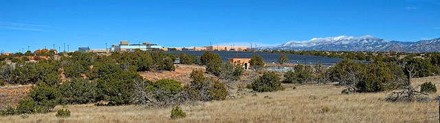 Santa Fe Community College from the Spur Trail