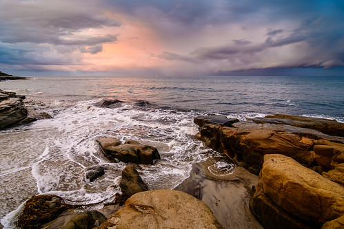 storm beach clouds sunrise sandiego cloudy tokina 1116 windanseabeach