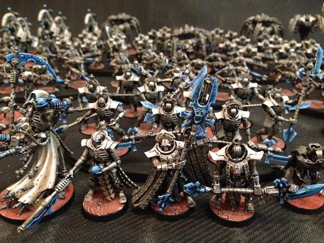 Warhammer 40k Necron Army Speed Painted Blue Stone (2) | Flickr