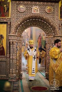 Литургия в Иверском монастыре  250