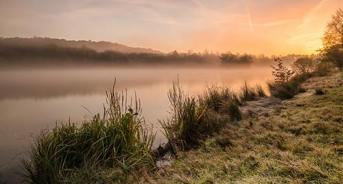 mist autumn sunrise nikond750 nikon wideangle prime morning serene addicted2walking nikonfxshowcase