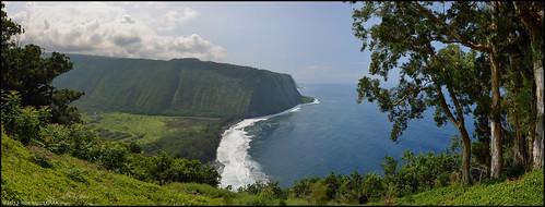 panorama landscape hawaii scenery bigisland waipiovalley