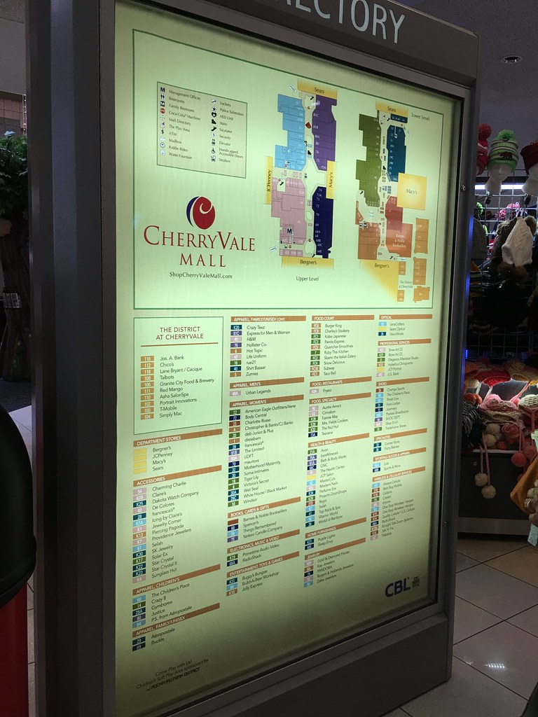 CherryVale Mall - Rockford, Illinois - Mall Directory | Flickr on