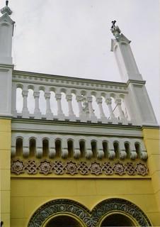 Templom műkő dekorációk