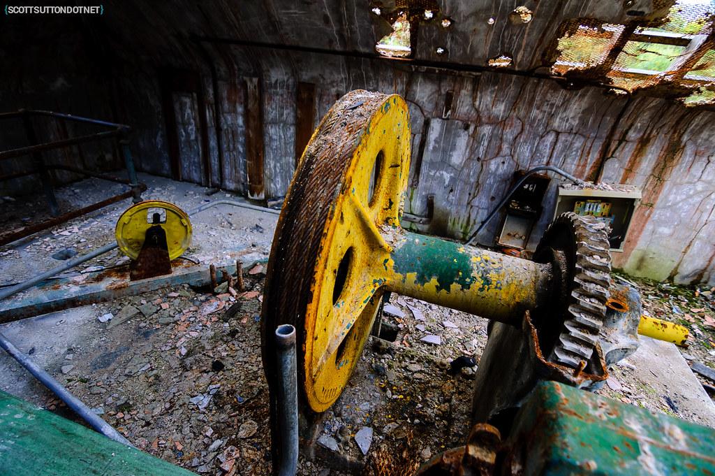 Mountain Ash Hospital - lift motor