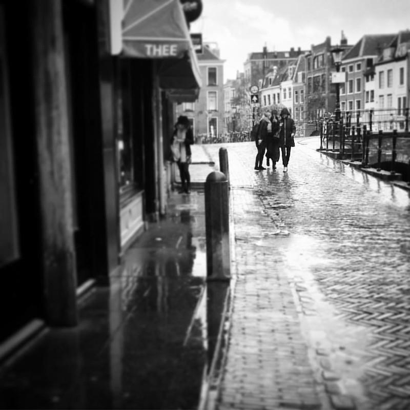 #Utrecht #rain #streetphotography