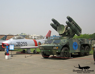 Bangladesh Air Force FM-90 SAM and Sabre.