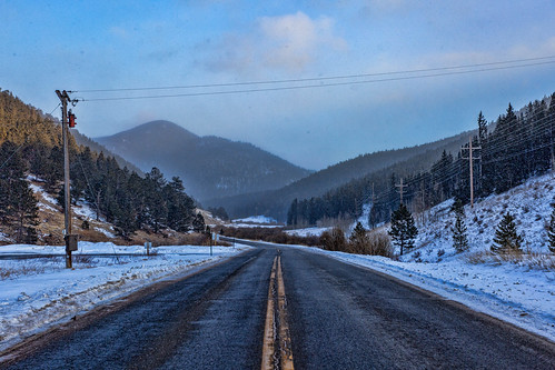 The Snowy Road Ahead | by UnknownNet Photography