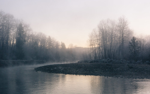 nature river steam morning sunrise trees pacificnorthwest carnation canoneos5dmarkiii toltriver canonef2470mmf28lusm washington johnwestrock wallpaper background