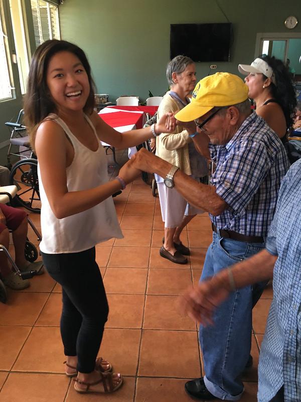 Ching, Anita; Costa Rica - Atenas Trip with ICDS Nursing Home Dancing