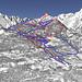 Mapa Puy St. Vincent