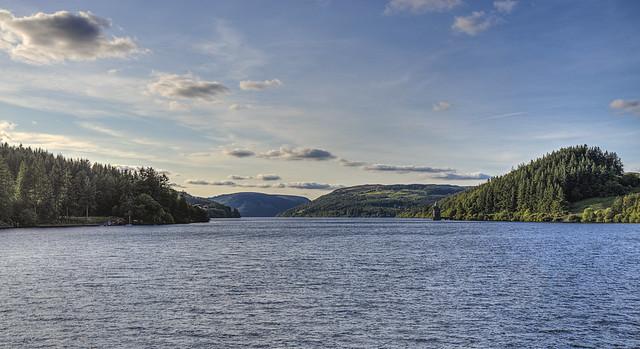 Lake Vyrnwy Wales 08/2105