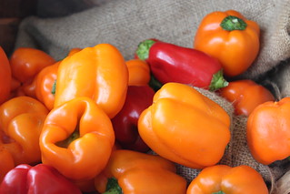 Orange and Red Bell Peppers | by BigOakFlickr