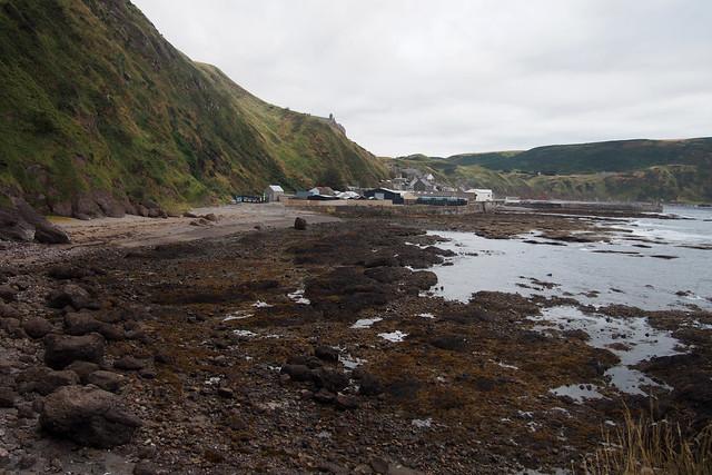 The coast at Gardenstown