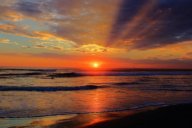 Golden Rays of Light