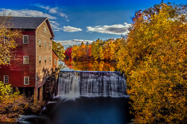Autumn Afternoon at Dells Mill
