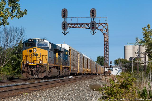 CSX Q241 at Lemoyne, Ohio