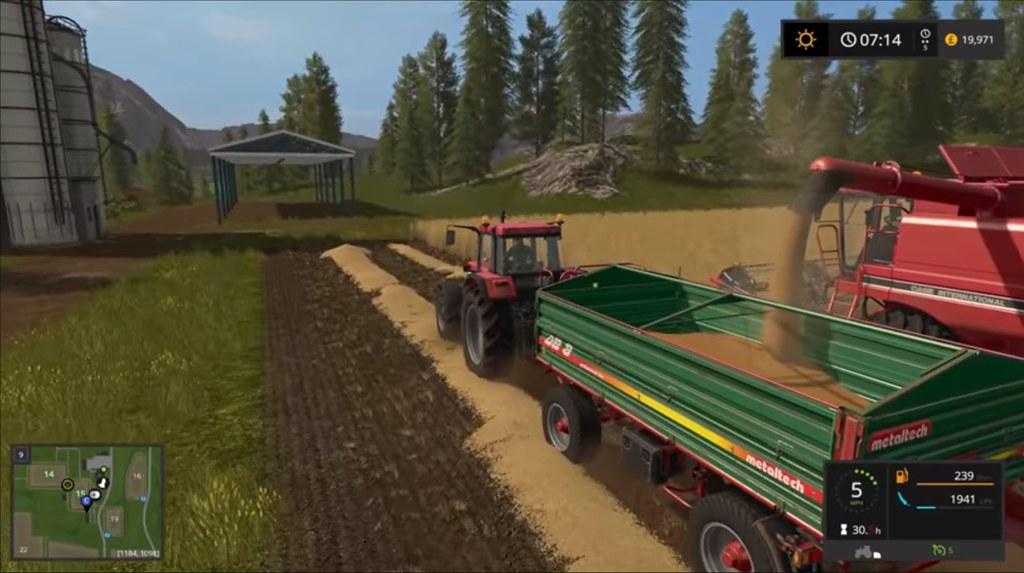 Farming Simulator 2017 - Harvester | www oneangrygamer net | Flickr