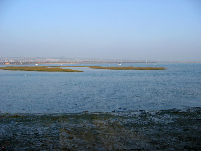 Langstone harbour from Hilsea